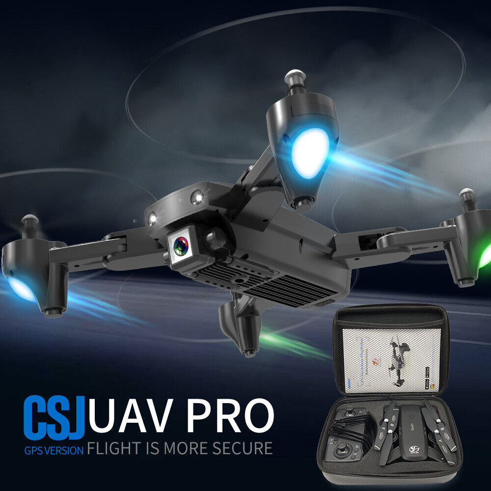SG906 GPS Brushless W// 3 Batteries RC Quadcopter 5G Wifi Drone Positioning I0L0