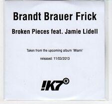 (EC892) Brandt Brauer Frick, Broken Pieces ft Jamie Lidell - 2013 DJ CD
