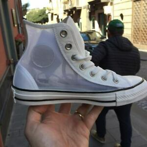 alta moda Prezzo di fabbrica 2019 outlet Details about Converse All Star Model Off White Transparent New Arrival  2019 Exclusive pann- show original title