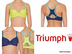 1527150bf Image is loading Triumph-Womens-2-Pack-Triaction-Racerback-Underwire-Sports-