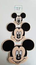 Small Mickey Mouse Iron On Patch - Disney Applique - READY TO SHIP!