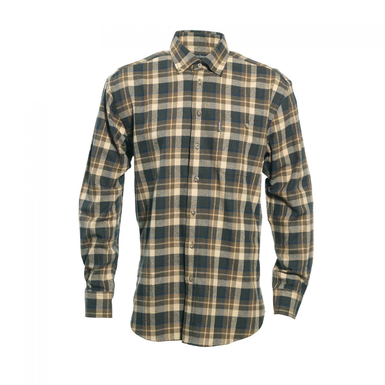 Deerhunter 8667  Scott Scott Scott Hemd  399-grün-braun kariert langärmlig versch. Größen e9ee4e