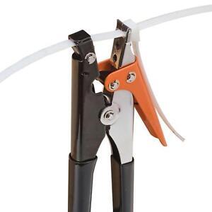 Nylon Tie Wrap Tensioning Tool Panduit Zip Cable Gun Strap Tightener Crimper Cut