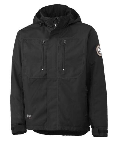 Berg Zip Hansen 2xl Manteau Hommes Complet S Manteau Taille Noir Imperméable Pour Helly 76201 qtdwY11