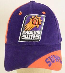 pretty nice 7c214 04692 Image is loading Phoenix-Suns-NBA-Basketball-Purple-Orange-Baseball-Cap-