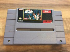 Super Nes USA:    SUPER STAR WARS