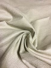 LAURA ASHLEY LIGHT GEY CHENILLE UPHOLSTERY FABRIC 1.3 METRES