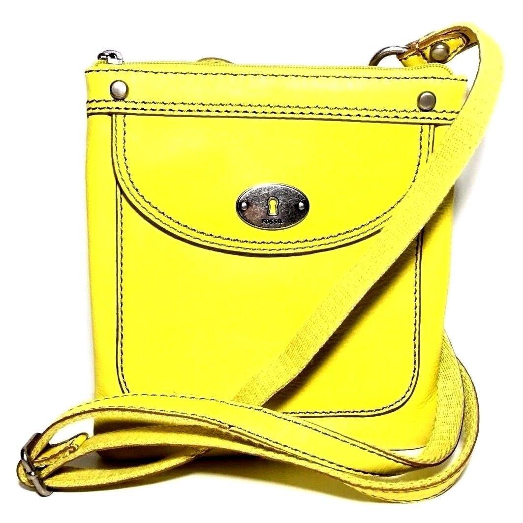 5d49bed9b4 Fossil Sl3129724 Marlow Mini Citrus Minibag Crossbody Purse Leather ...