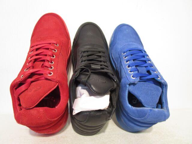 GBX Mens Fergus Sneaker Shoe Blue Leather Suede Size 10.5 M