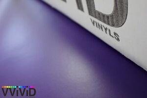 XPO Matte Purple Vinyl Car Wrap VViViD film decal sticker sheet roll