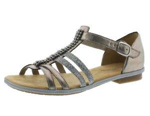 Rieker 62728 90 Schuhe Damen Sandalen Sandaletten   eBay q74tL