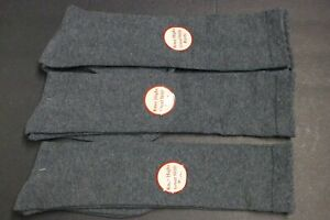 3-PAIRS-12-inch-Women-039-s-knee-high-Boots-socks-shoe-size-9-11-SOLID-Gray