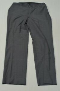 Talbots-16W-Gray-Heritage-Relaxed-Stretch-Woman-Plus-Dress-Pants