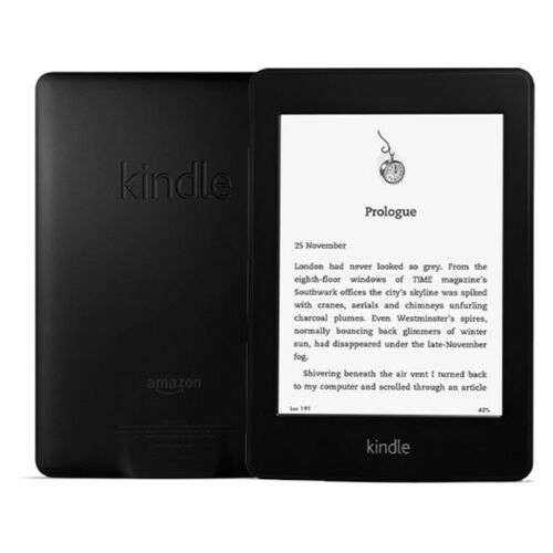 1 of 1 - Amazon Kindle Paperwhite 2GB, Wi-Fi, 6in - Black 1st Generation