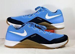 Nike Metcon Repper DSX UNC North Carolina Blue & White Sz 7.5 NEW 921215 401