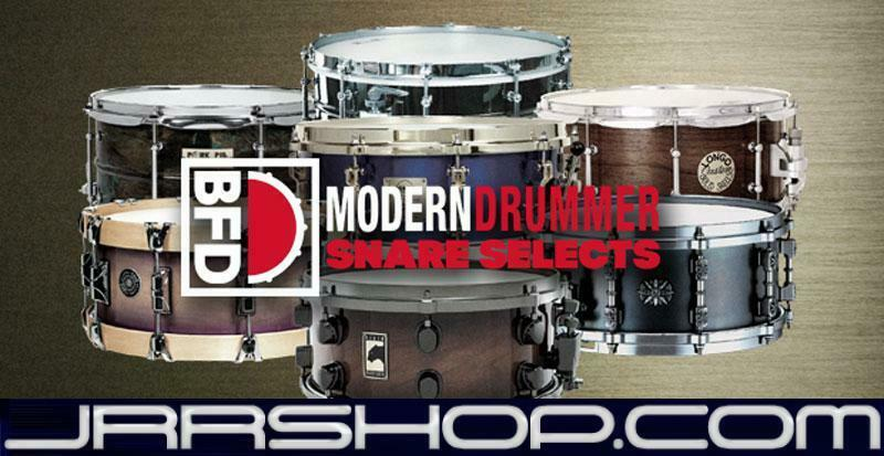 FXpansion BFD Modern Drummer Snare Selects eDelivery JRR Shop