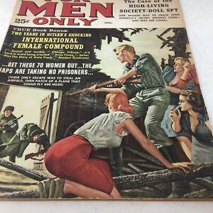 Vintage-Men-039-s-Adventure-Magazine-FOR-MEN-ONLY-JAN-1961-Pulp-Erotica-Pin-Up-Nazi