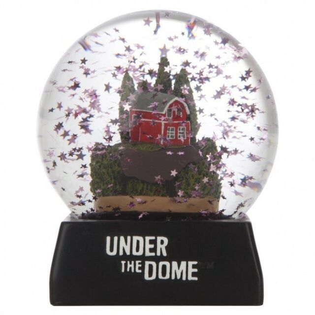 Under the Dome Snow Globe Limited Collector's Edition NOT DVD Stephen King Prop