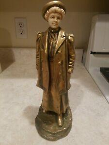 Antique-Bernard-Bloch-Victorian-Lady-Figurine