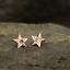 Indexbild 3 - Weihnachtsgeschenk Synthetische Alaxendrit-Edelstein-Nieten aus 9 Karat Gold