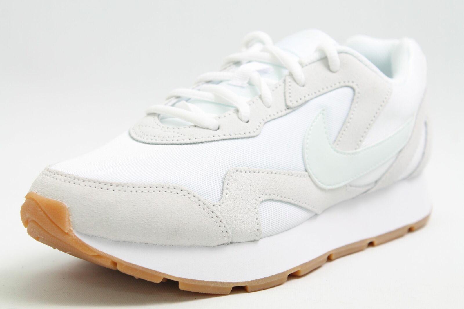 Zapatillas nike cuero blancoo combinado de malla transpirable Sportiv cortos señora