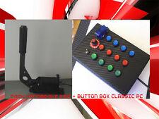 Pack BUTTON BOX +Handbrake WRC   logitech g27 thrustmaster playseat fanatec pc