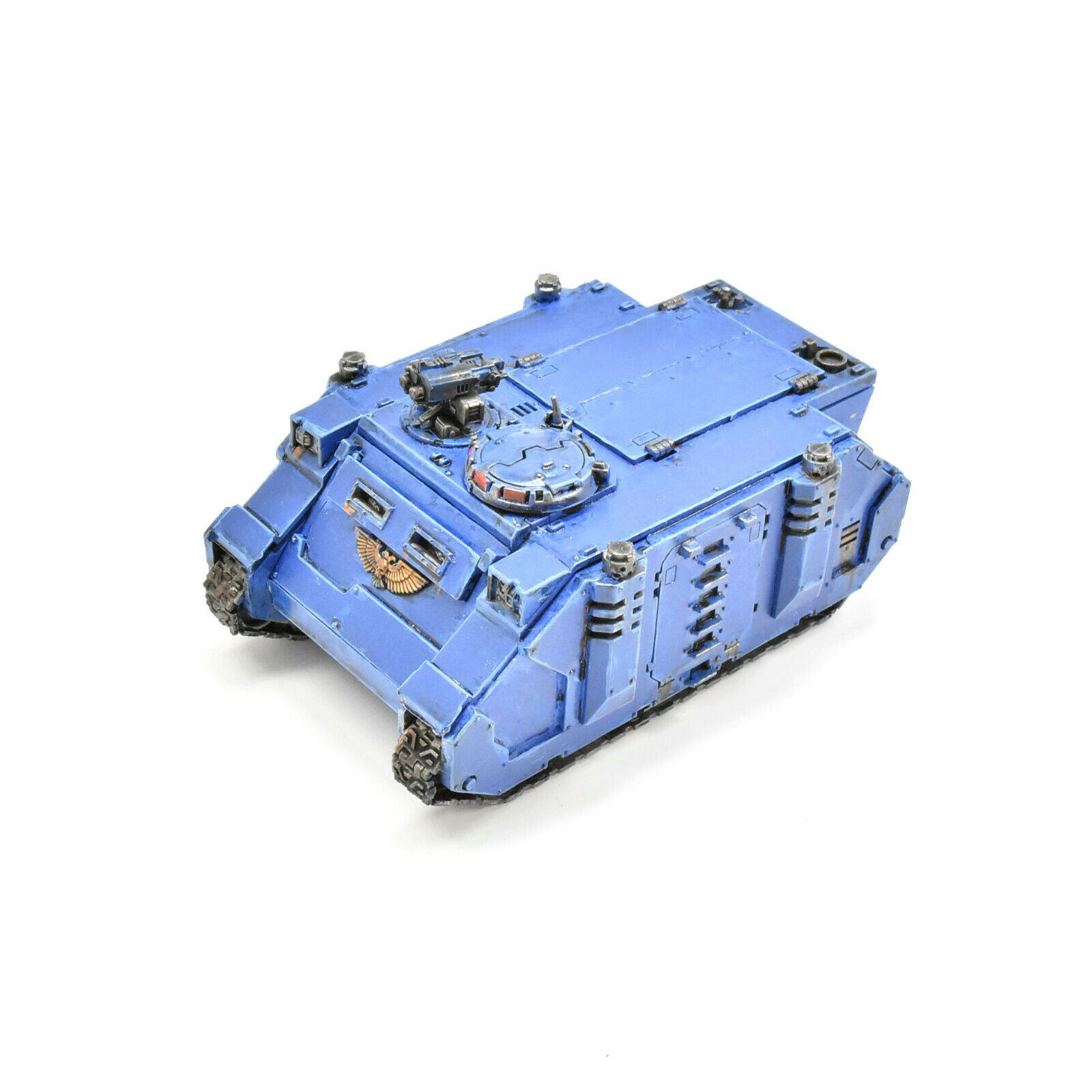 SPACE MARINES Rhino tank PAINTED Warhammer 40K ultramarines