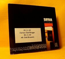 MAXI PROMO Single CD Saybia The Second You Sleep 1TR 2002 Soft Rock