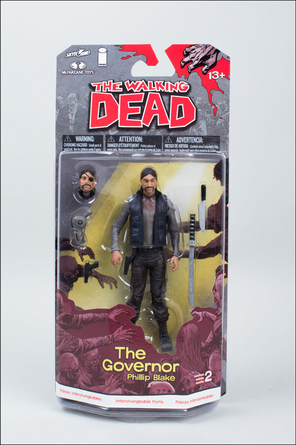 PHILLIP BLAKE THE GOVENOR THE WALKING DEAD COMIC SERIES 2 ACTION FIGURE