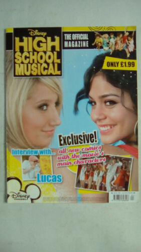 Disney High School Musical Magazine Number 1-9 Select Any Issue