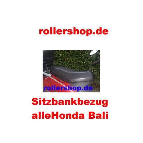 Sitzbank-Bezug Honda Bali 50 Bali 100 Handgenäht in Deutschland