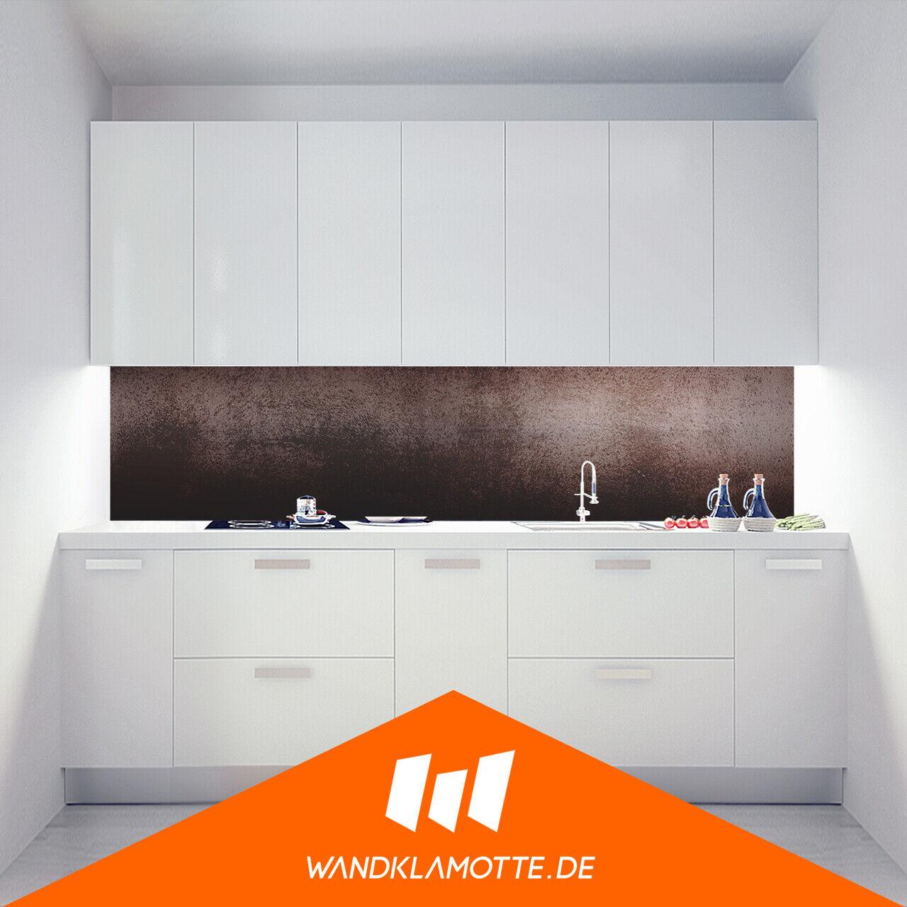 Küchenrückwand Acryl Glas Herd Spritzschutz Polished Rust