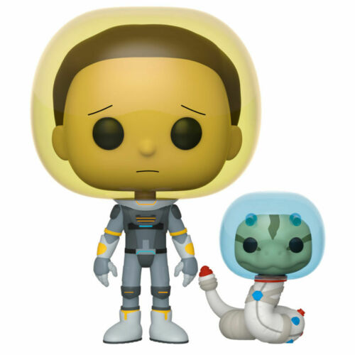 ** FUNKO POP VINYL RICK AND MORTY SPACE MORTY WITH SNAKE ** IN STOCK NOW
