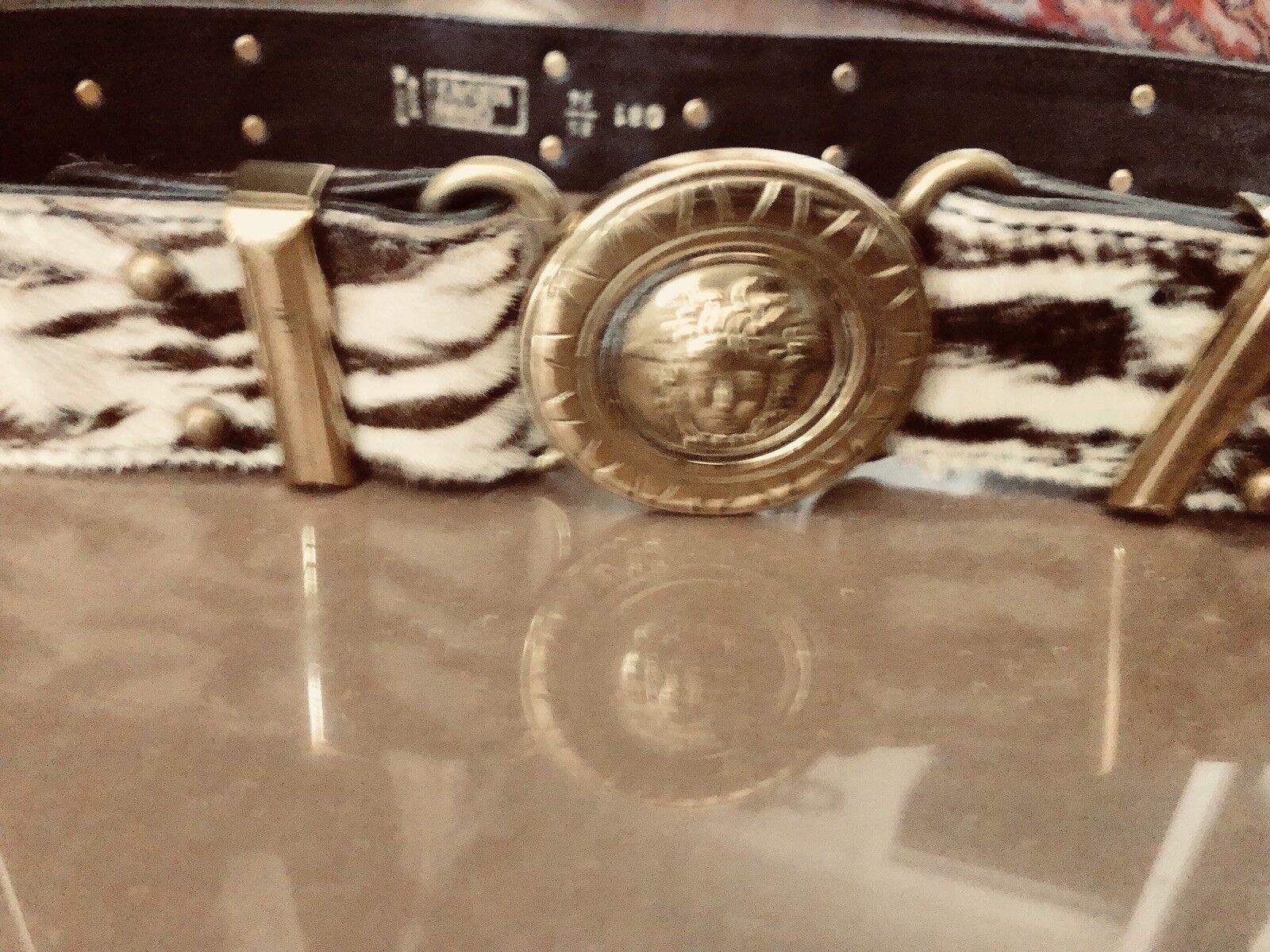 gianni versace vintage Belt - image 10