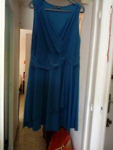 1 Robe T50 Bleu Petrole Sans Manche Ebay