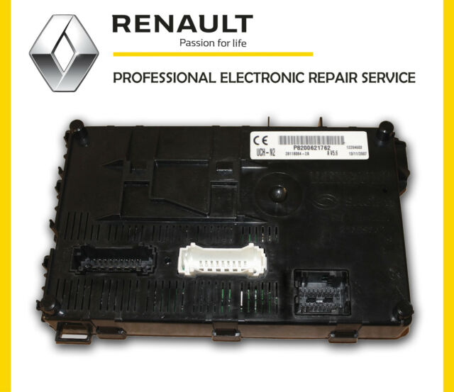 renault clio uch bcm body control module repair service lifetime ebay. Black Bedroom Furniture Sets. Home Design Ideas