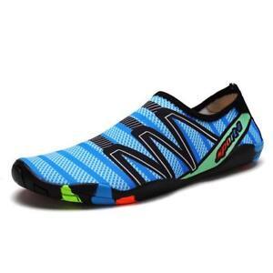 575a8d6ef82a Beach Water Shoes Men Women Sports Swim Pool Barefoot Slip On Skin ...