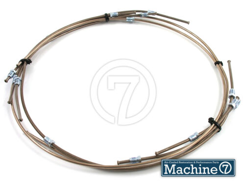 Classic VW Beetle Kunifer Brake Pipe Line Kit Swing Axle  Ghia 1967 GERMAN CSP