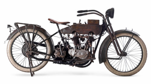 1910 HARLEY DAVIDSON VINTAGE MOTORCYCLE POSTER PRINT 20x36 HI RES 9 MIL PAPER
