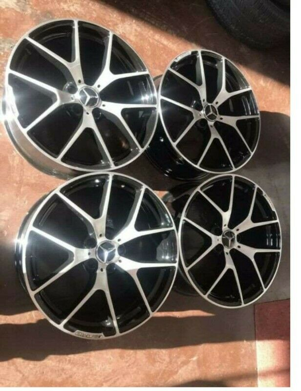 Latest AMG. 19 inches mags wheels for sale 8.5 j and 9.5 j brand new
