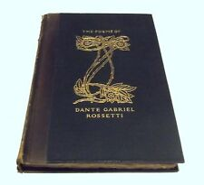 THE POEMS OF DANTE GABRIEL ROSSETTI HC/1903 Volume 1 The Pafraets Book Co. - N