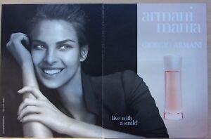 page-de-publicite-parfum-ARMANI-MANIA-GIORGIO-ARMANI-en-2001-ref-61901