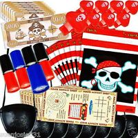 Pirates Treasure 48 Piece Pirate Party Favors Value Pack 48pcs
