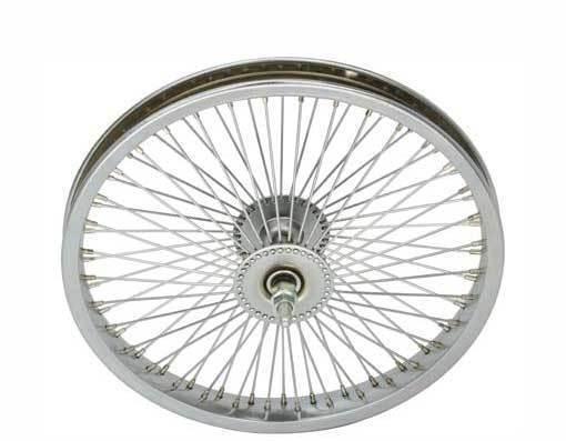 LOW RIDER LOWRIDER BIKE BICYCLE 16  72 Spoke Front Wheel 14G Chrome