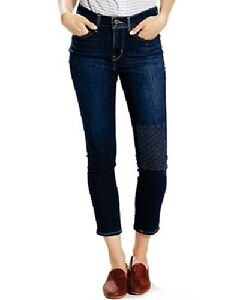 67a4a0fad0 Details about Womens Levi's 311 Shaping Ankle Skinny Jeans Dark Blue Wash  Size 33