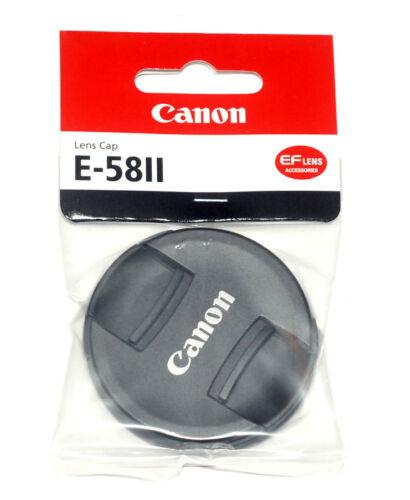 Canon Original Objektivdeckel 58mm Lens Cap E-58 II mit Innengriff NEU//OVP