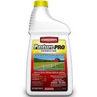 4 Gordons 8111072 Pasture Pro 1 Gallon 2 4-D Herbicide Weed Killer Garden