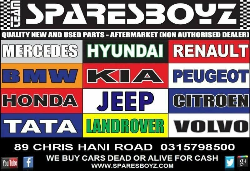 New and Used Spares for sale - Sparesboyz Durban