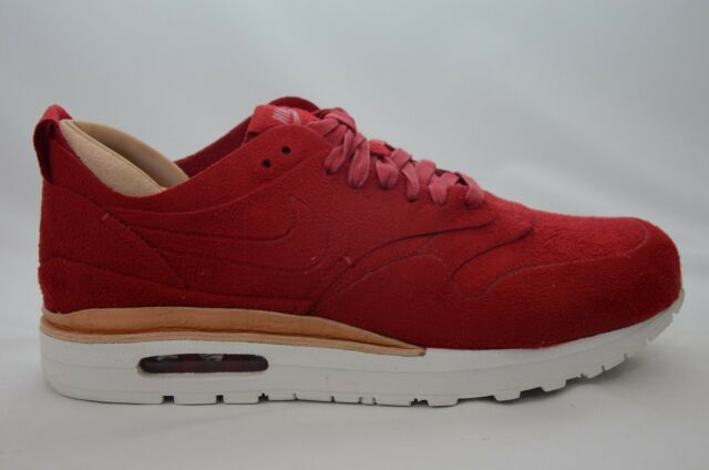 super popular 3b669 3aa98 Nike Air Max 1 Royal Men s Size 8-13 Red White New in Box