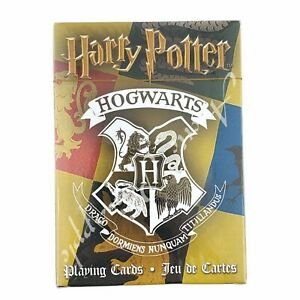 Harry-Potter-Hogwarts-House-Themed-52-Playing-Cards-Collection-New-In-Package